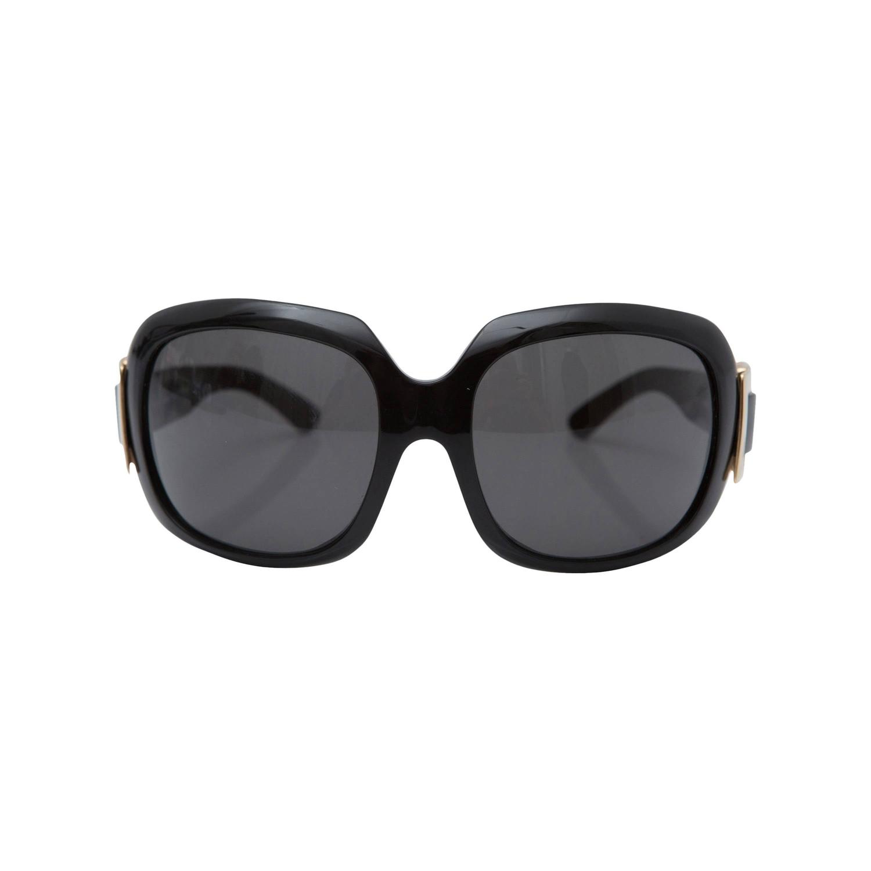 01e5f89a20cf Black Sunglasses With Gold Sides