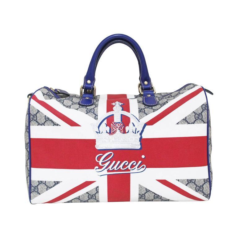 Limited Edition Gucci Union Jack Sloaney bag, c. 2009  1