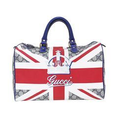 Limited Edition Gucci Union Jack Sloaney bag, c. 2009