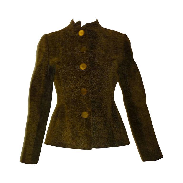 Givenchy Vintage Pigskin Jacket  For Sale