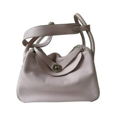 Hermes Lindy Rose Dragee Bag