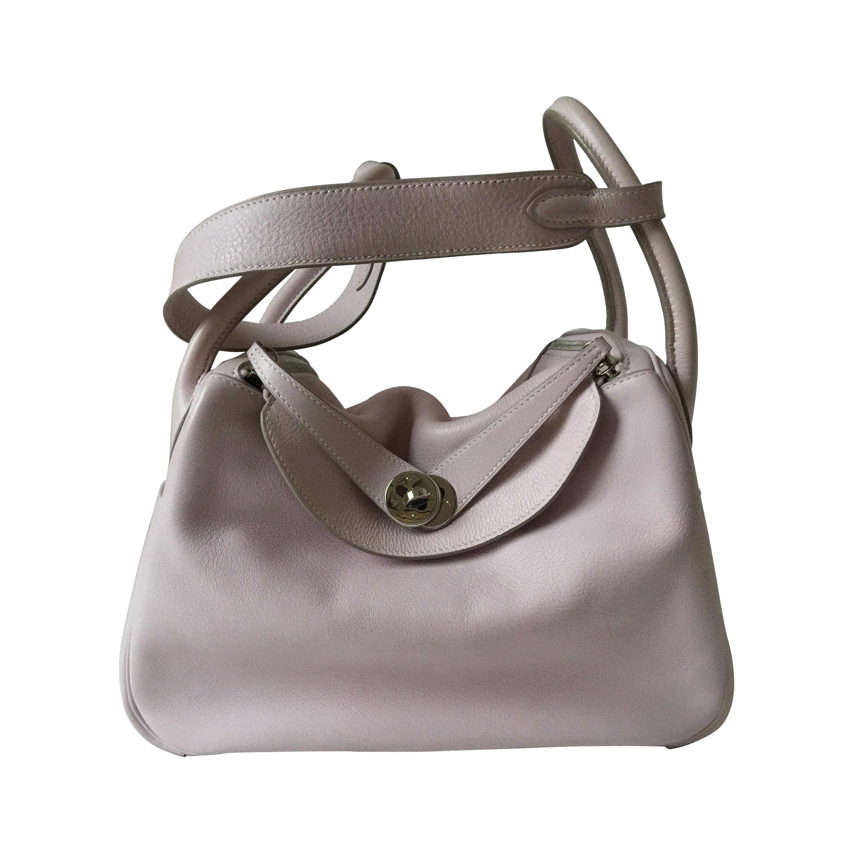 Hermes Lindy Rose Dragee Bag