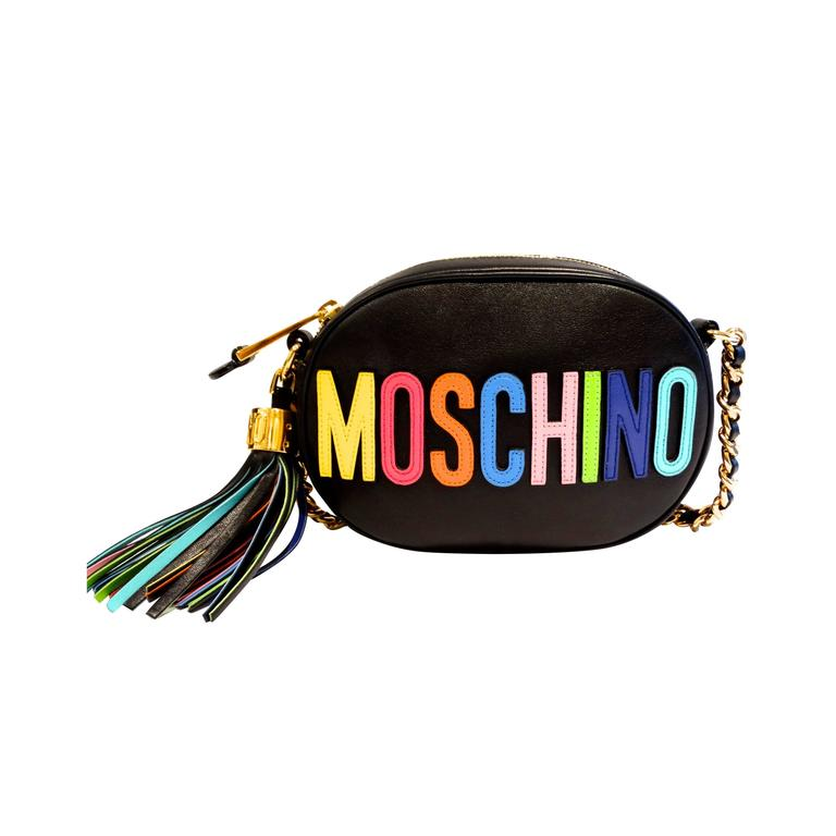 Moschino 'Rainbow Letters' Crossbody Bag 1