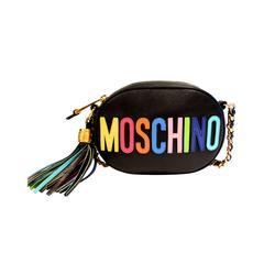 Moschino 'Rainbow Letters' Crossbody Bag