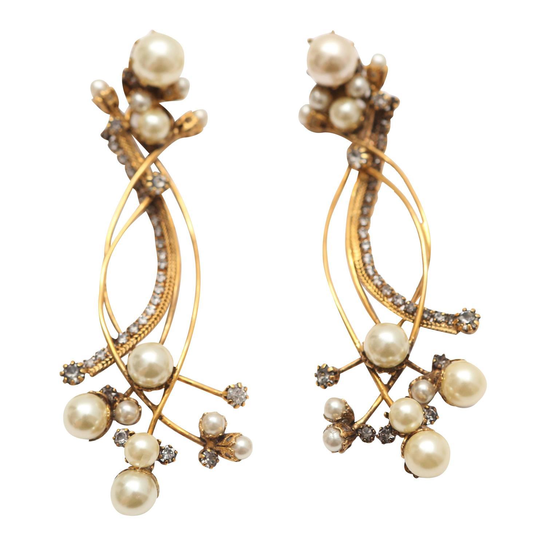 erickson beamon stratosphere earrings at 1stdibs