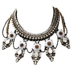 Erickson Beamon White 'Weeping Angel Necklace'
