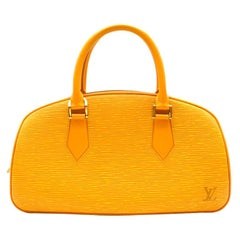 Louis Vuitton Tassil Yellow Epi Leather Jasmin Bag 30cm