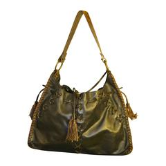 2000s Dolce & Gabbana black bag