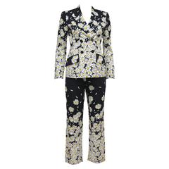 Moschino daisy pant suit, c. 1990s