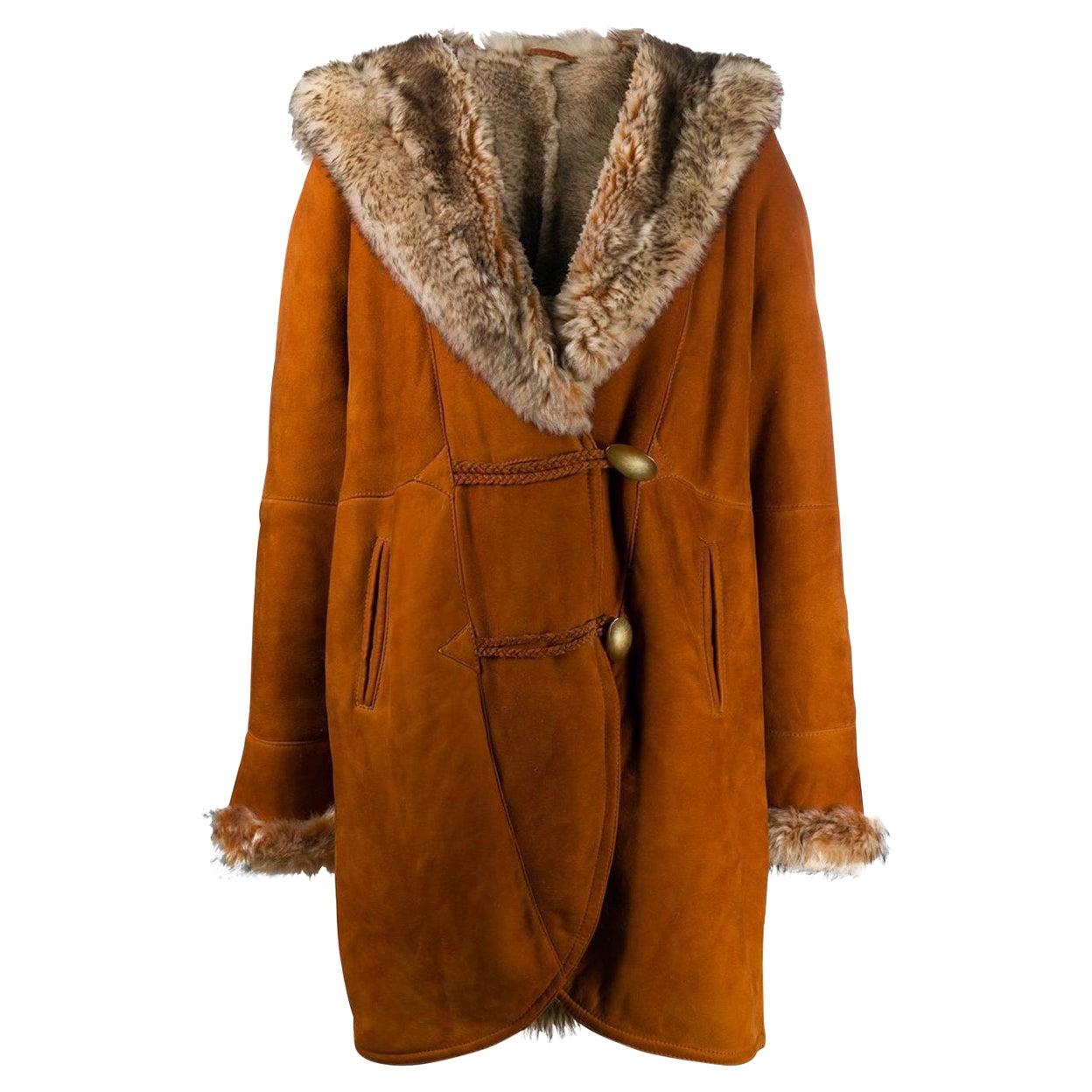 1980s A.N.G.E.L.O. Vintage Cult Hooded Coat