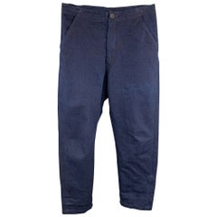 LEVI'S MADE & CRAFTED Size 30 x 28 Indigo Cotton Casual Pants
