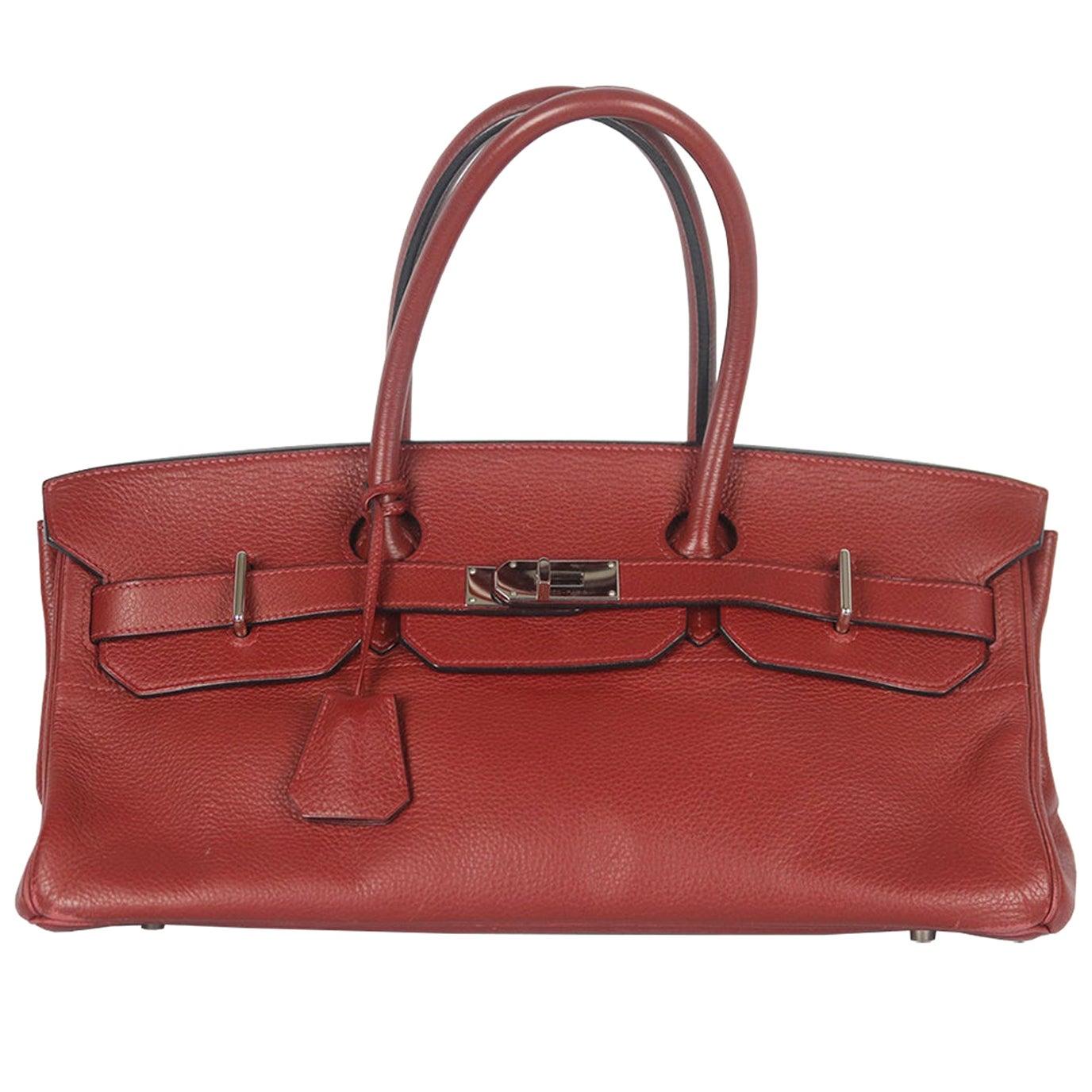 Hermès Birkin JPG Clemence Palladium H/W Shoulder Bag