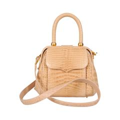 Lana Marks Cream Colored Alligator Bag