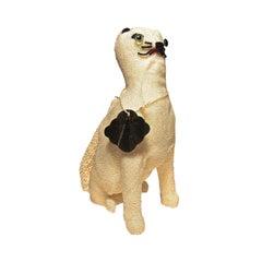 1950s Walborg Beaded Figural Cat Purse