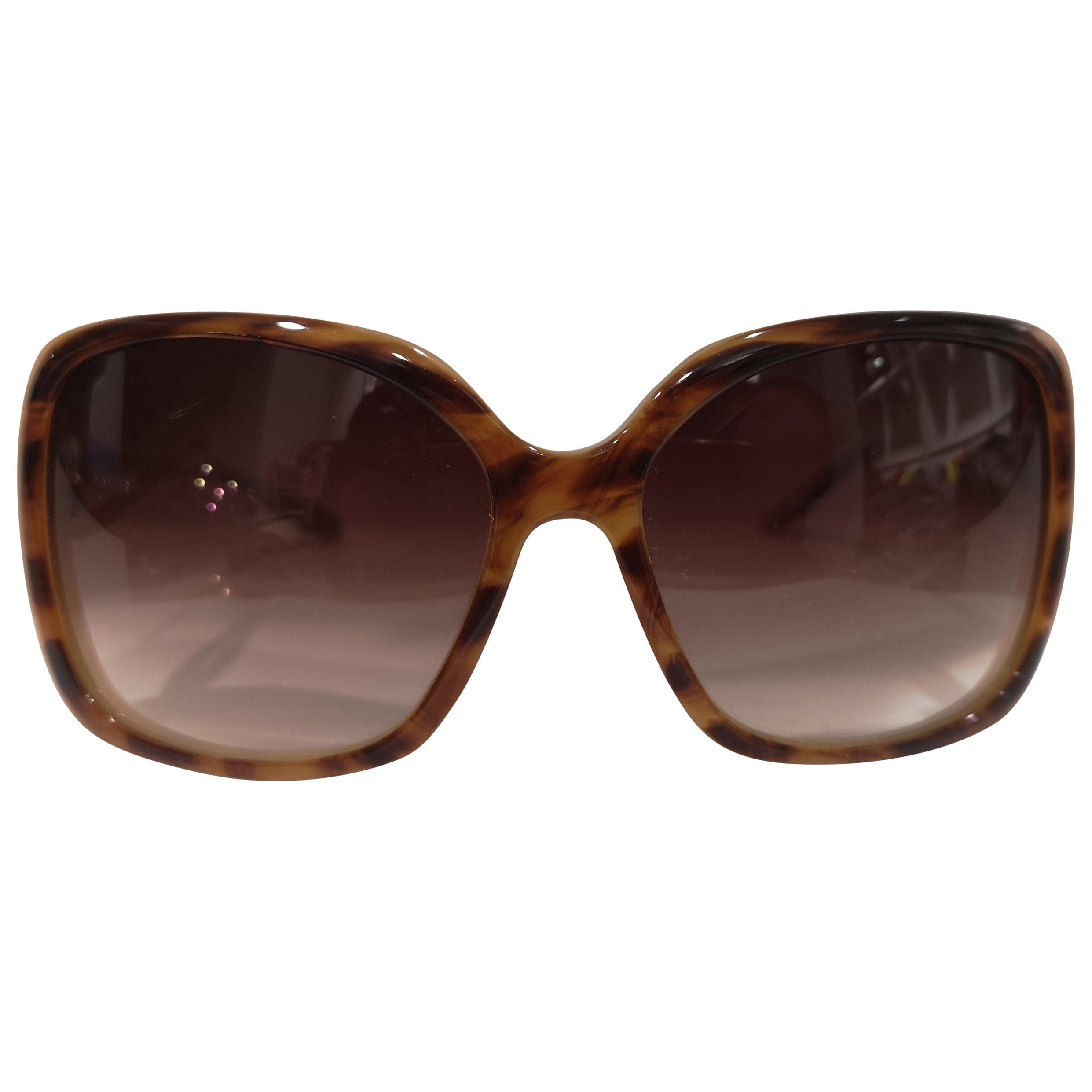 Barton Perreira tortoise light yellow sunglasses still with box