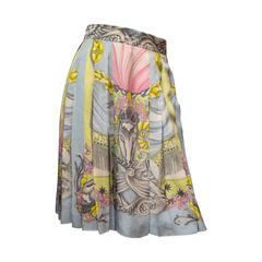 Giani Versace for Laurel Printed Skirt