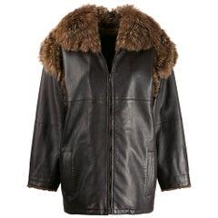 1980s Yves Saint Laurent Fur Jacket