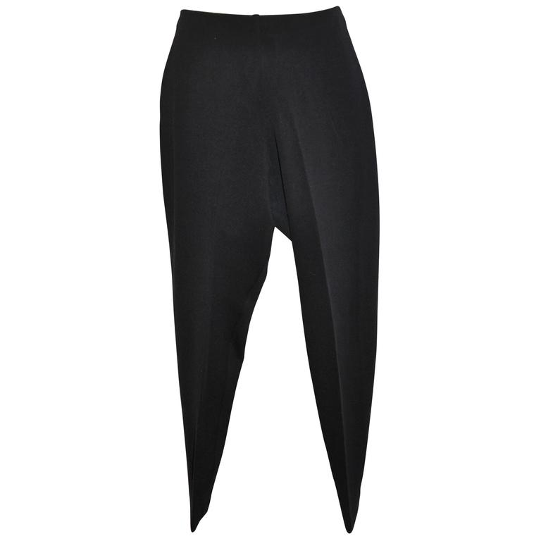 Donna Karan Tapered Slim-Fit Elastic Waist Trousers