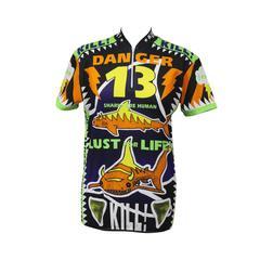 Walter Van Beirendonck graphic cycling shirt, c. 1996
