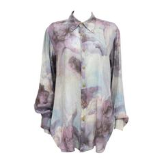 Vivienne Westwood poet voile blouse, 'Portrait Collection c. 1990