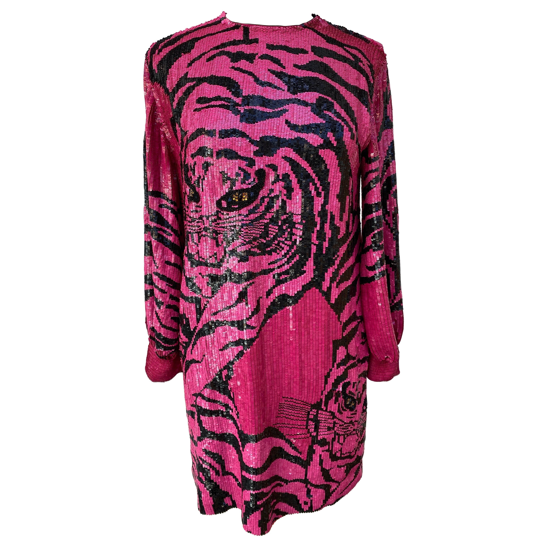 Valentino Sequin Dress