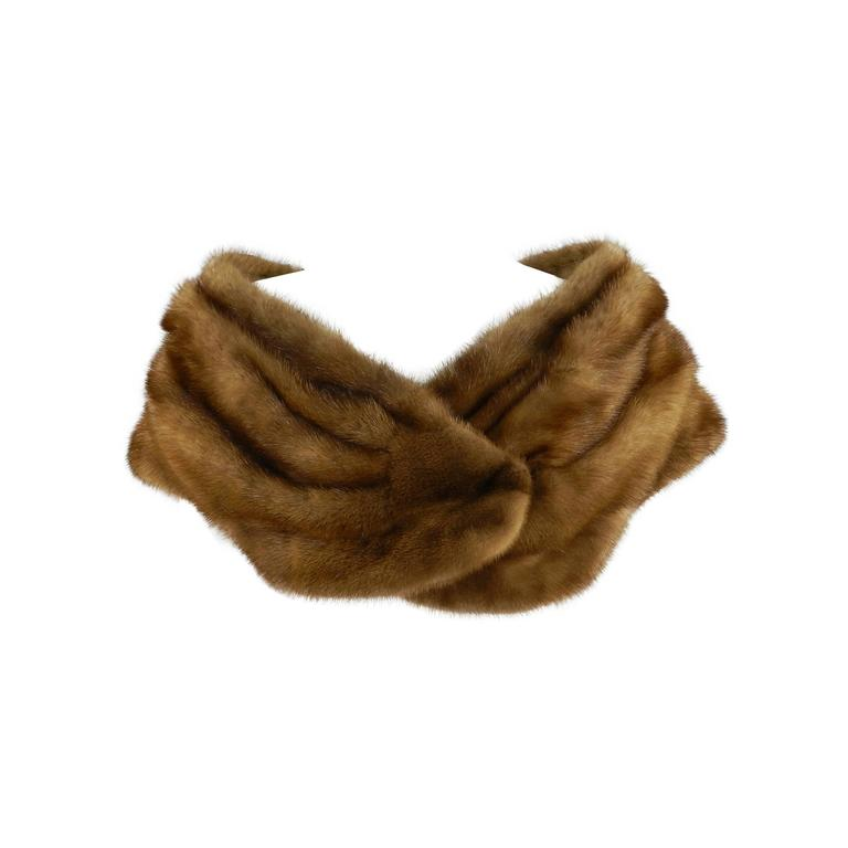 Barneys New York Natural Mink Shawl / Capelet For Sale
