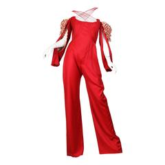 "Alexander McQueen Spring 2002 ""Dance of The Twisted Bull"" Jumpsuit"