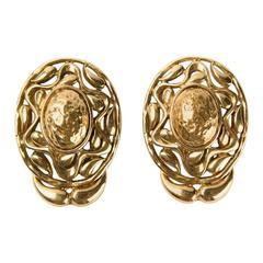 1980s Saint Laurent Earrings