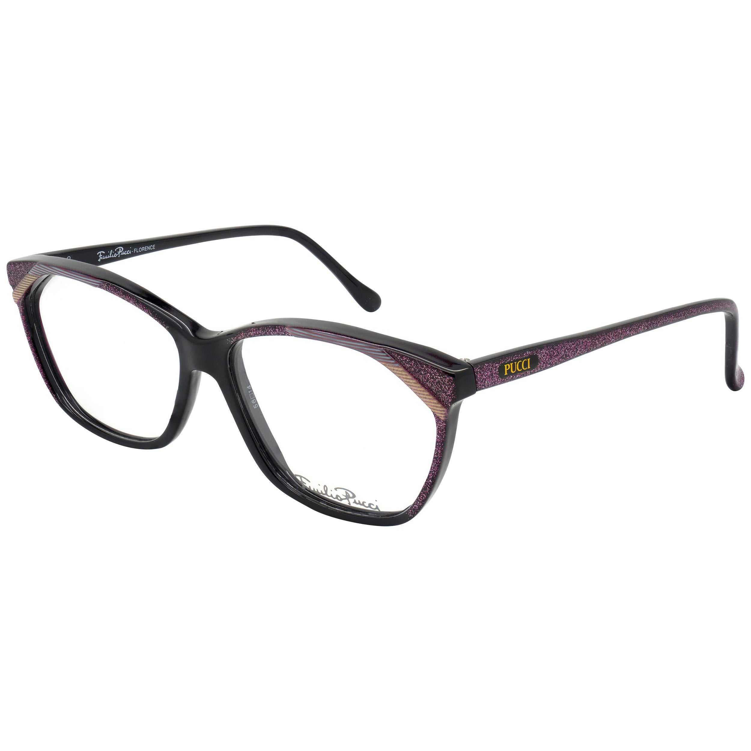 Emilio Pucci sparkling eyeglasses for women