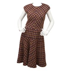Oscar de la Renta Tweed Shift Dress