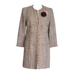 CHANEL 03P Jacket / Coat Fantasy Tweed 46
