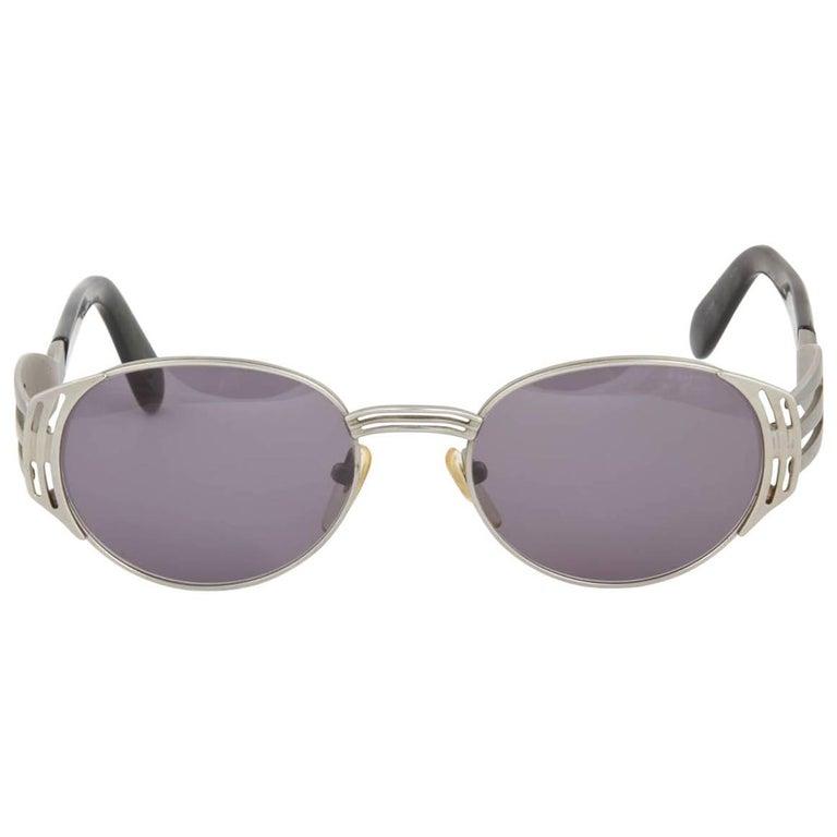 Jean Paul Gaultier Vintage 56-3281 Fork Sunglasses For Sale