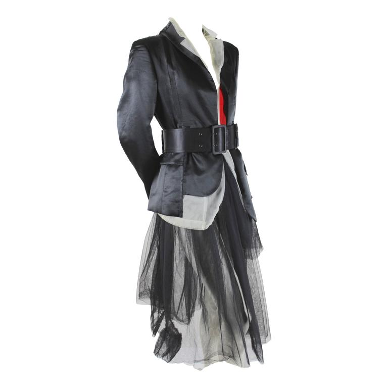 Comme des Garcons AD 2007 Hinomaru (Rising Sun) Runway Outfit