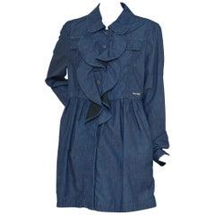 Miu Miu Denim Dress Coat