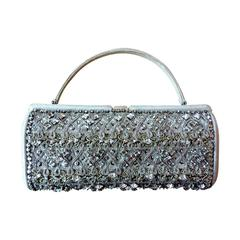 Nettie Rosenstein Jeweled 1950's Evening Bag