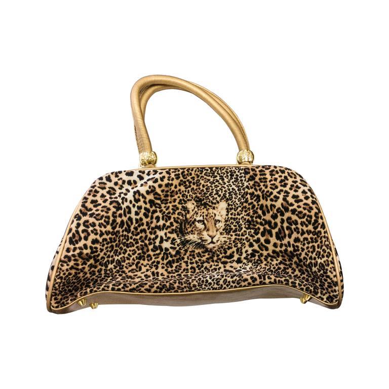 Butler and Wilson Leopard Handbag