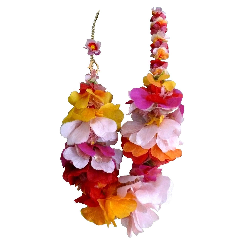 Dior by john galliano spectacular rare runway hawaiian necklace rtw dior by john galliano spectacular rare runway hawaiian necklace rtw ss 2011 for sale at 1stdibs izmirmasajfo