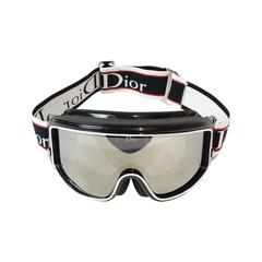 1980s Christian Dior Mirrored Ski Goggles