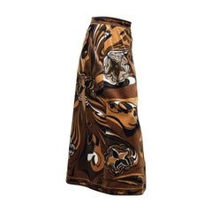 Pucci Velvet Evening Skirt