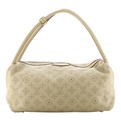 Louis Vuitton Galatea Handbag Mahina Leather MM