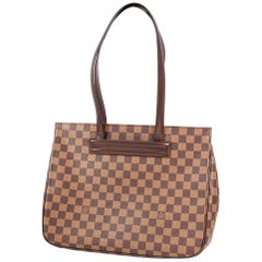 LOUIS VUITTON Parioli PM Womens tote bag N51123 Damier ebene