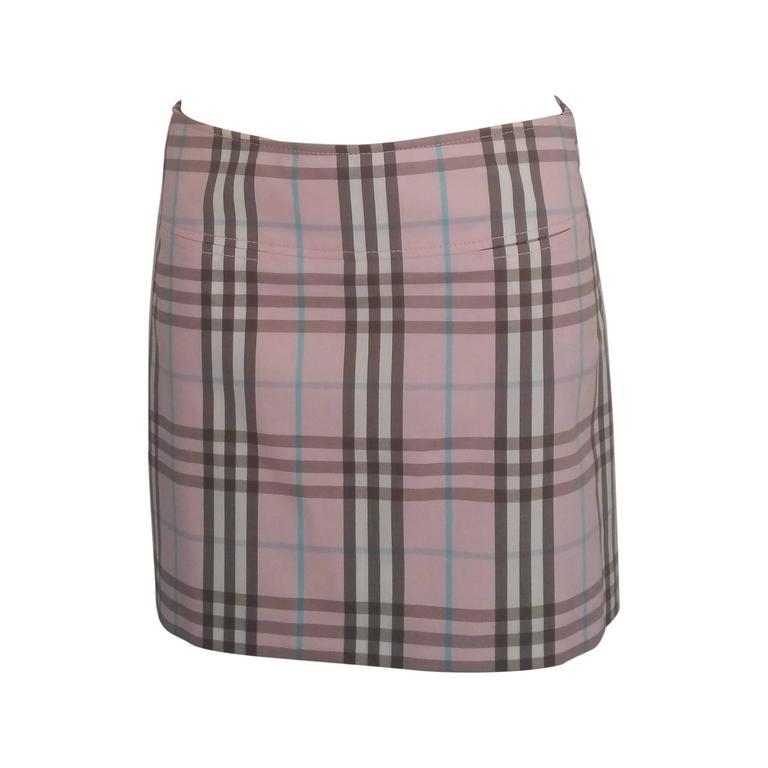 1990s Burberry London Skirt  1