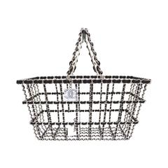 Chanel NEW Limited Edition Runway Grocery by Chanel Shopping Basket rt. $12,500