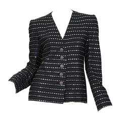 Galanos Metal Studded Jacket