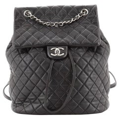 Chanel Urban Spirit Backpack Quilted Lambskin Large