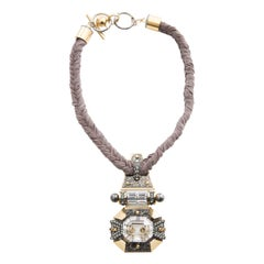 Alber Elbaz For Lanvin Braided Necklace, Spring - Summer 2011