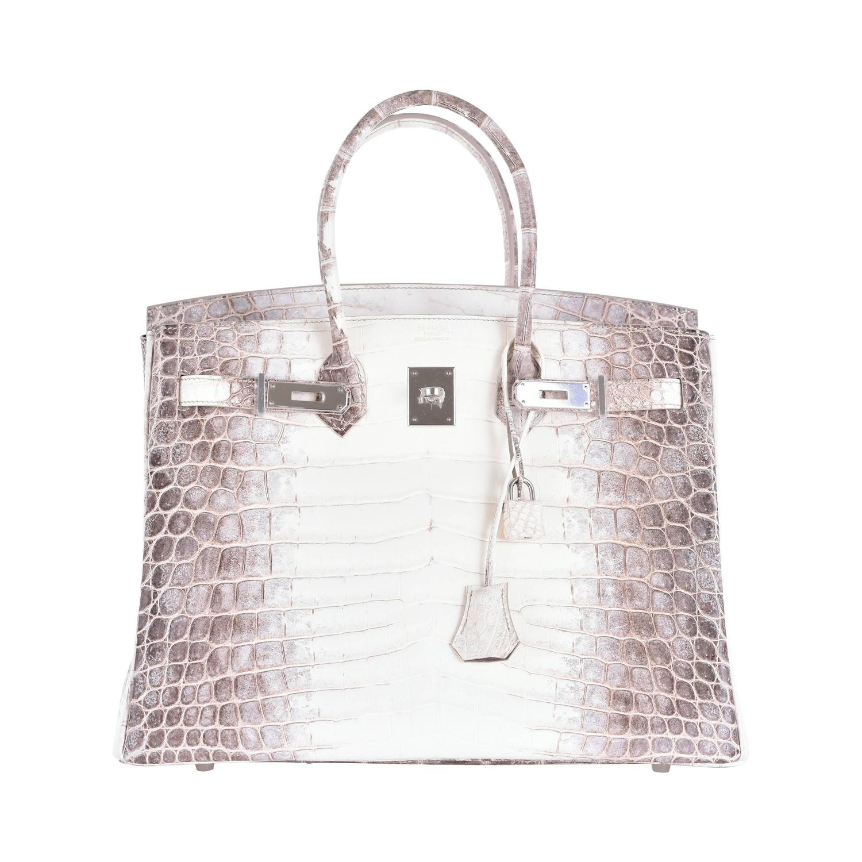 hermes bag kelly - Hermes Himalayan Nilo crocodile 35cm Birkin Bag Limited Edition ...
