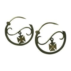 Early 19th Century French Earrings