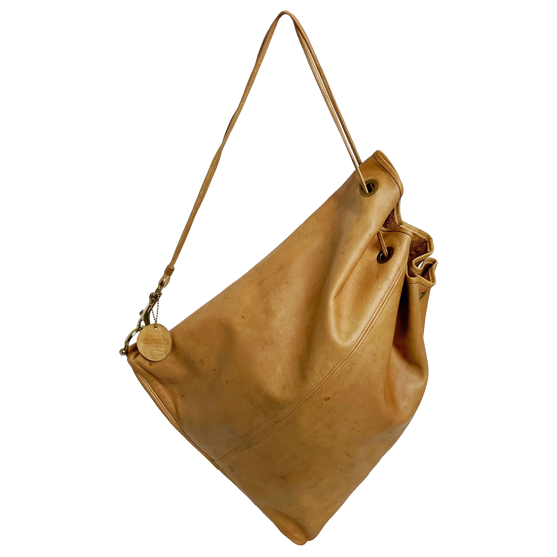 Vintage Bonnie Cashin Coach NYC Drawstring Sling Bag Pre Creed with Baseball Tag