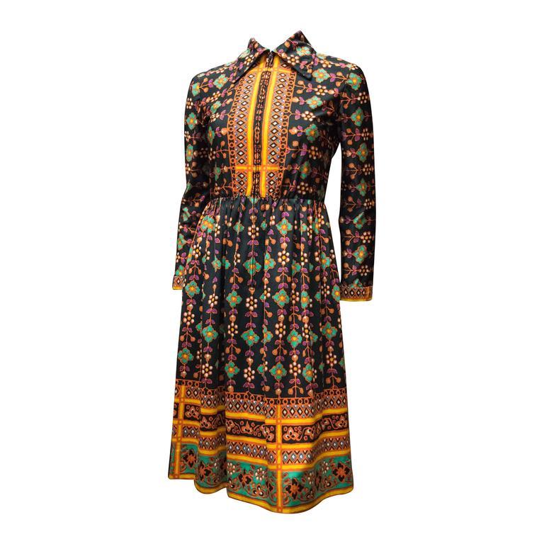 1960s Oscar De La Renta Dress 1
